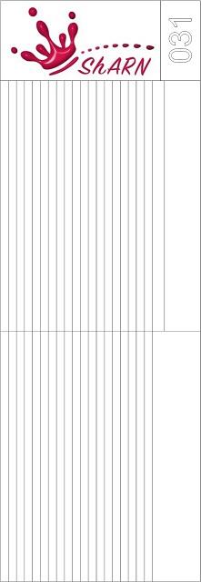 031 Трафарет для аэрографии на ногтях