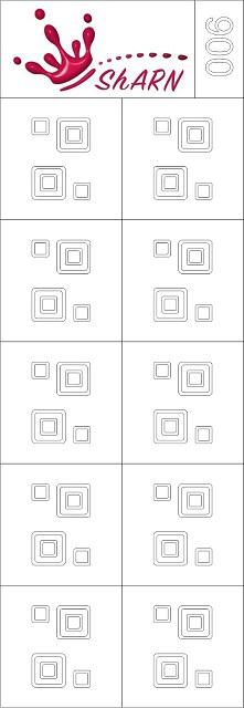 006 Трафарет для аэрографии на ногтях