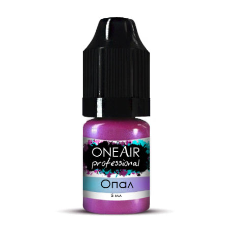 Перламутровая краска для аэрографии на ногтях ОПАЛ 5 мл